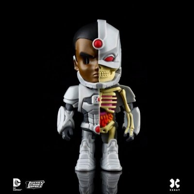Boneco XXRAY CIBORGUE Liga da Justiça - Mighty Jaxx