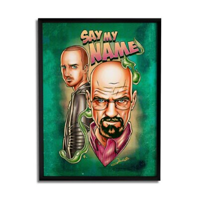 Quadro Decorativo Breaking Bad By Renato Cunha - Beek