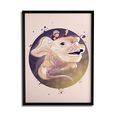 Quadro Decorativo The Never By Lua Lins - Beek