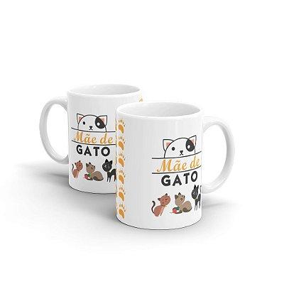 Caneca Personalizada Mãe de Gato - Beek