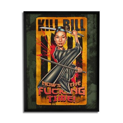Quadro Decorativo Kill Bill By Renato Cunha - Beek