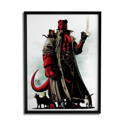 Quadro Decorativo Hellboy By Baal's - Beek