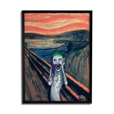Quadro Decorativo Joker Scream By Baal's - Beek