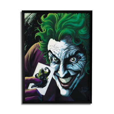 Quadro Decorativo Joker Card By Baal's - Beek