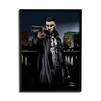 Quadro Decorativo Punisher By Baal's - Beek