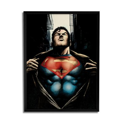 Quadro Decorativo Superman By Baal's - Beek