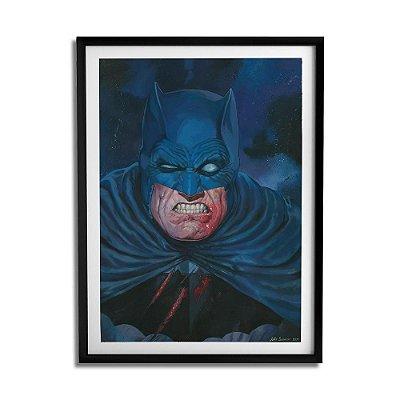 Quadro Decorativo Batman O Cavaleiros das Trevas By João Silveira - Beek