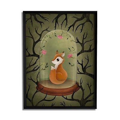 Quadro Decorativo Esquilo By Fe Sponchi - Beek