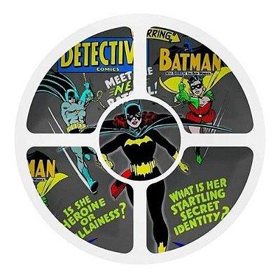 Petisqueira Redonda Batgirl - Dc Comics