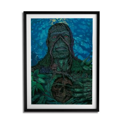 Quadro Decorativo Swamp Thing By João Silveira - Beek