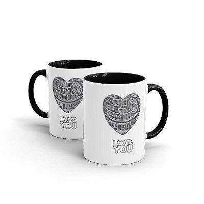 Caneca Personalizada Cerâmica LOVE YOU - Beek