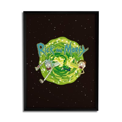 Quadro Decorativo Portal RICK AND MORTY Oficial - Beek