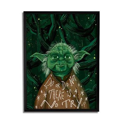 Quadro Decorativo Yoda By Carol Rempto - Beek