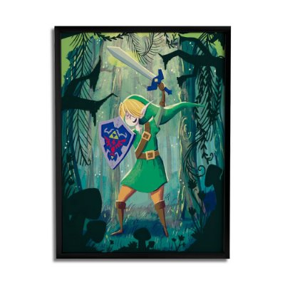 Quadro Decorativo Zelda By Carol Rempto - Beek