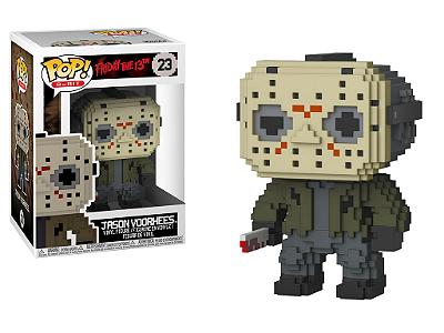 Estatueta Funko 8-Bit Pop! Horror - Jason Voorhees