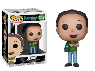 Estatueta Funko Pop! Animation Rick & Morty S3 - Jerry