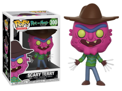 Estatueta Funko Pop! Animation Rick & Morty S3 - Scary Terry