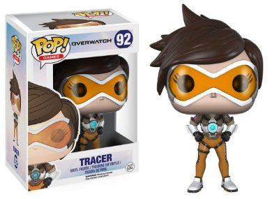 Estatueta Funko Pop! Games Overwatch - Tracer