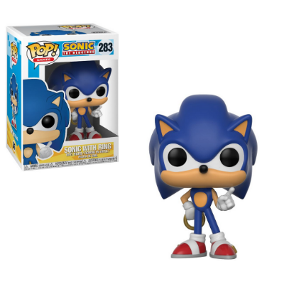 Estatueta Funko Pop! Games Sonic - Sonic W/ Ring