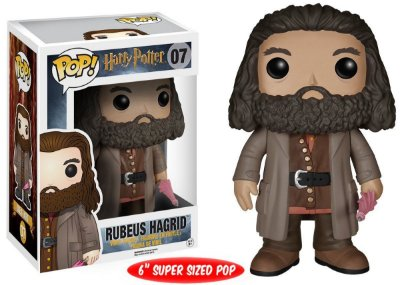 Estatueta Funko Pop! Movies Harry Potter - Rubeus Hagrid 6""