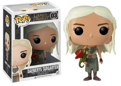 Estatueta Funko Pop! Television Game Of Thrones - Daenerys Targaryen