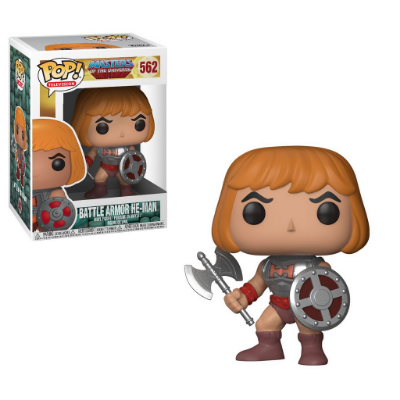 Estatueta Funko Pop! Television Masters Of The Universe S2 Battle Armor - He-Man