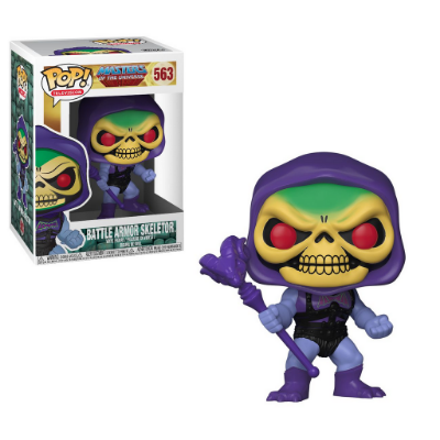 Estatueta Funko Pop! Television Masters Of The Universe S2 Battle Armor - Skeletor