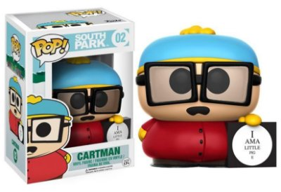 Estatueta Funko Pop! Television South Park - Cartman Piggy