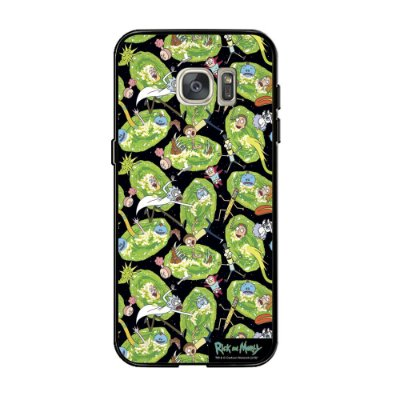 Capa Para Celular Portais RICK AND MORTY Oficial - Beek