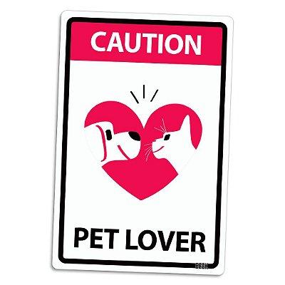 Placa Decorativa 24x16 PET LOVER - Beek