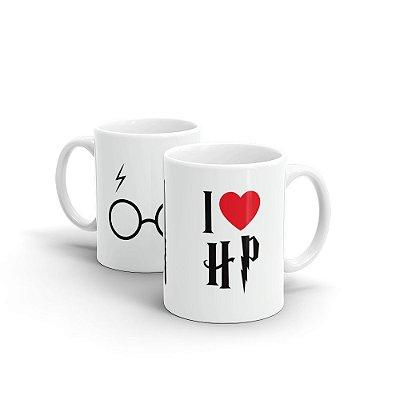 Caneca Personalizada Cerâmica I LOVE HP - Beek