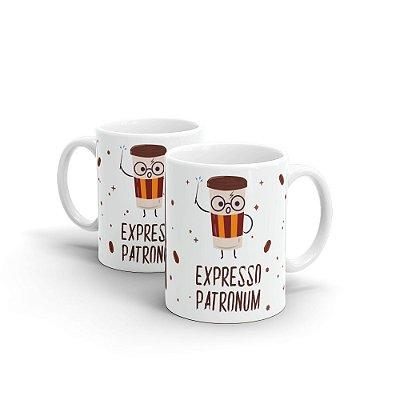 Caneca Personalizada Cerâmica Expresso Patronum - Beek