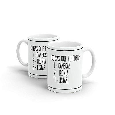 Caneca Personalizada Cerâmica IRONIA - Beek