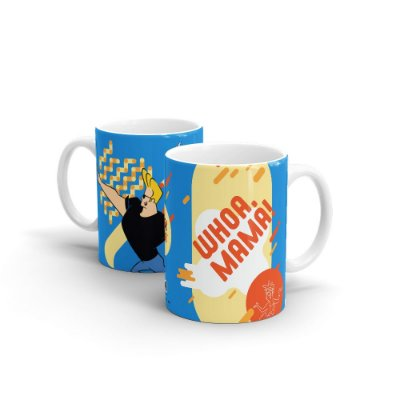 Caneca Cartoon Network POP Jhonny Bravo - Whoa Mama