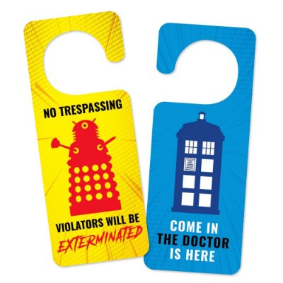 Aviso de porta The Doctor is here - Beek