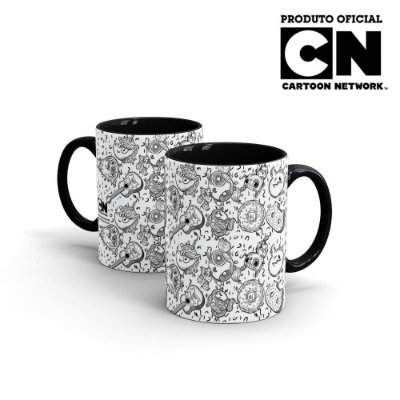 Caneca Cartoon Network OFF Mix de Personagens 2