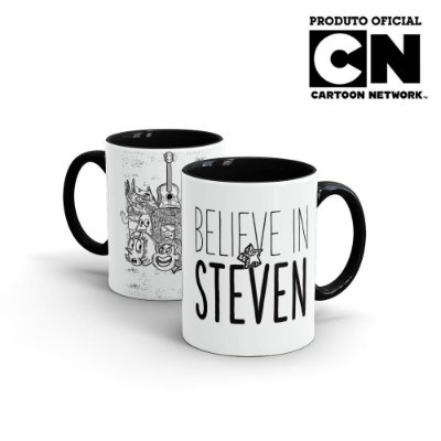 Caneca Cartoon Network OFF Steven Universe - Believe in Steven