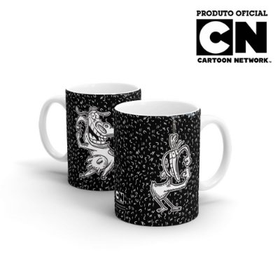 Caneca Cartoon Network OFF A Vaca e o Frango - Dancing