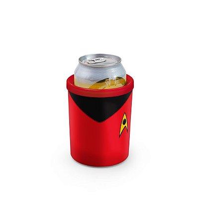 Porta Latas 350ml Star Beers Vermelho - Beek