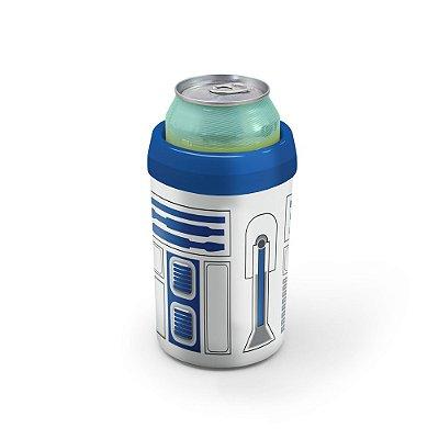 Porta Latão e Litrinho Robô Azul - Beek