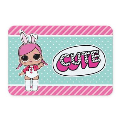 Tapete 60x40 DOLL Cute - Beek