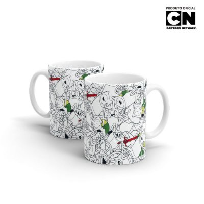 Caneca Cartoon Network HORA DE AVENTURA Finn - Beek