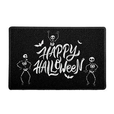 Capacho 60x40cm Esqueletos Halloween - Beek