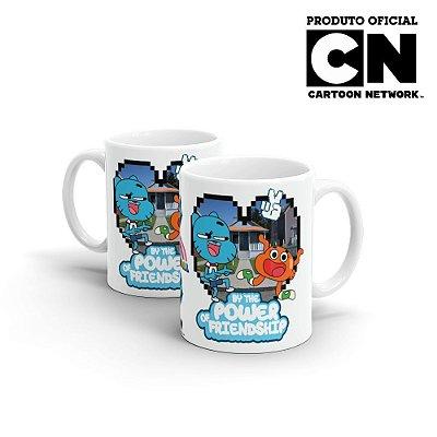 Caneca Cartoon Network O incrível Mundo de Gumball Poder da Amizade - Beek