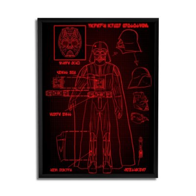 Quadro Decorativo Darth Vader 2 By Keyzo Araujo - Beek