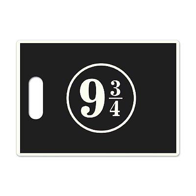 Tábua de Carne de Vidro 35x25cm 9 3/4 Preta - Beek