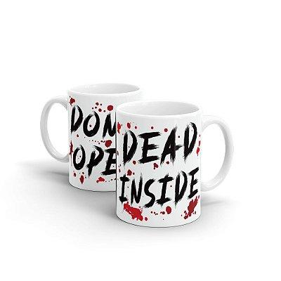 Caneca Personalizada Cerâmica DEAD INSIDE - Beek