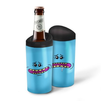 Porta Garrafa Térmico 600ml Rick and Morty MEESEEKS - Beek