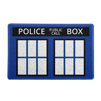 Capacho 60x40cm Police Box - Beek