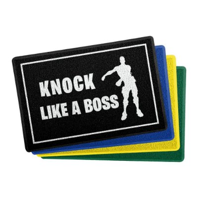 Capacho 60x40cm Knock Like a Boss - Beek